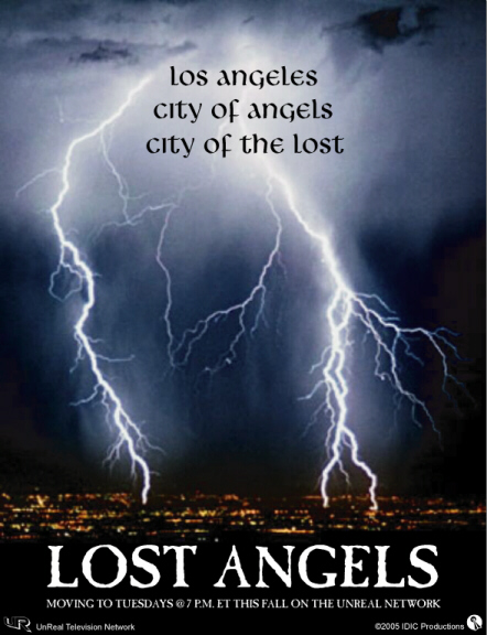 LOST ANGELS - Promotional Poster